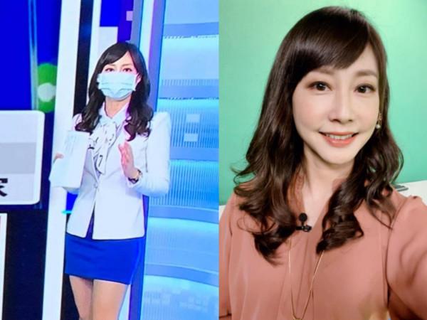 戴口罩報新聞⋯主播吳宇舒「只化眼妝」上陣 揭真實情況網心疼!