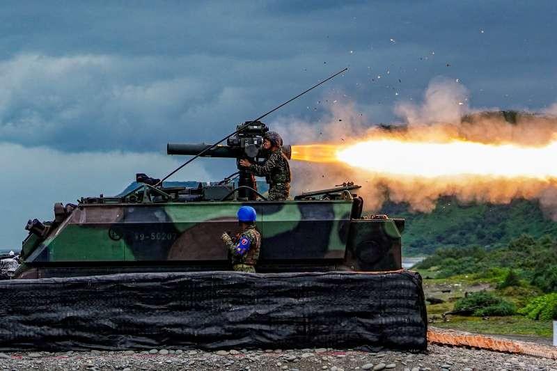 整體防衛構想,飛彈,漢光演習,坦克,戰術,反登陸,國軍,國防部