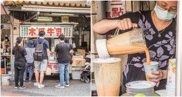 不加任何一滴水!彰化木瓜牛奶老店 獨創甜鹹風味「草莓蛋吐司」