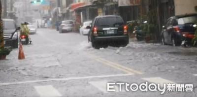 水利署發布淹水警報! 「宜蘭3鄉鎮」列淹水警戒