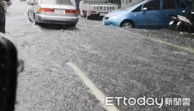 快訊/豪雨襲南台灣! 南投、彰化列淹水一級警戒