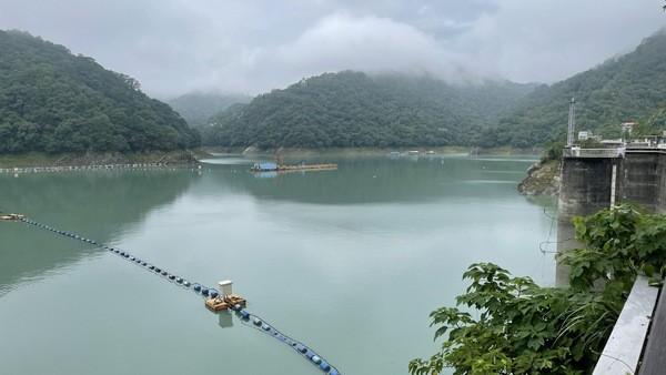 ▲石門水庫蓄水率逾五成。(圖/北水局提供)