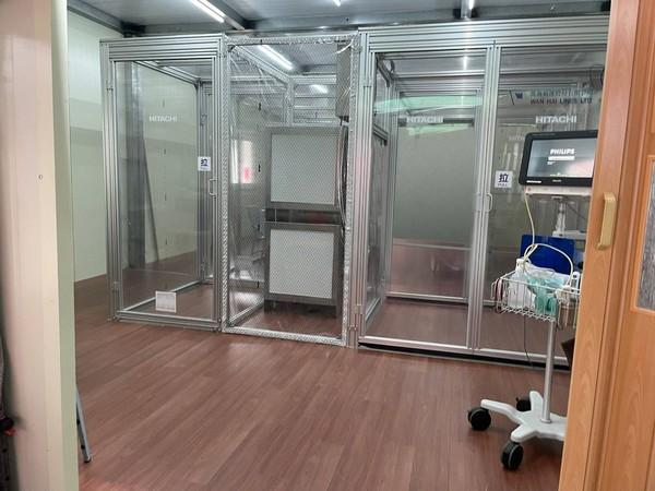 東森直銷電商捐負壓隔離病房給忠孝醫院(圖/東森直銷電商提供)