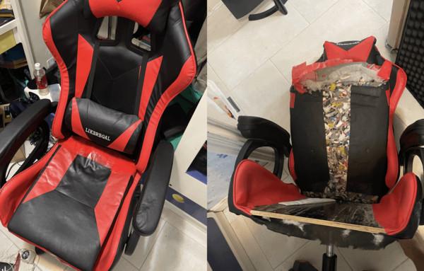 [新聞] 淘寶900元買到電競椅!他坐一年驚見「椅