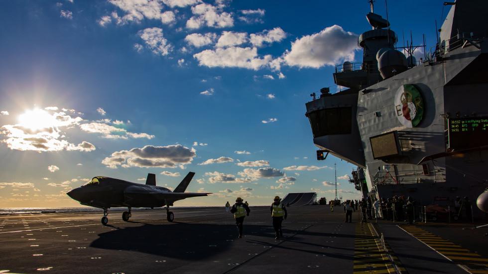 英國,南海,自由航行,航空母艦,日不落國,國防預算,中共,美國,日本,印太地區,北約