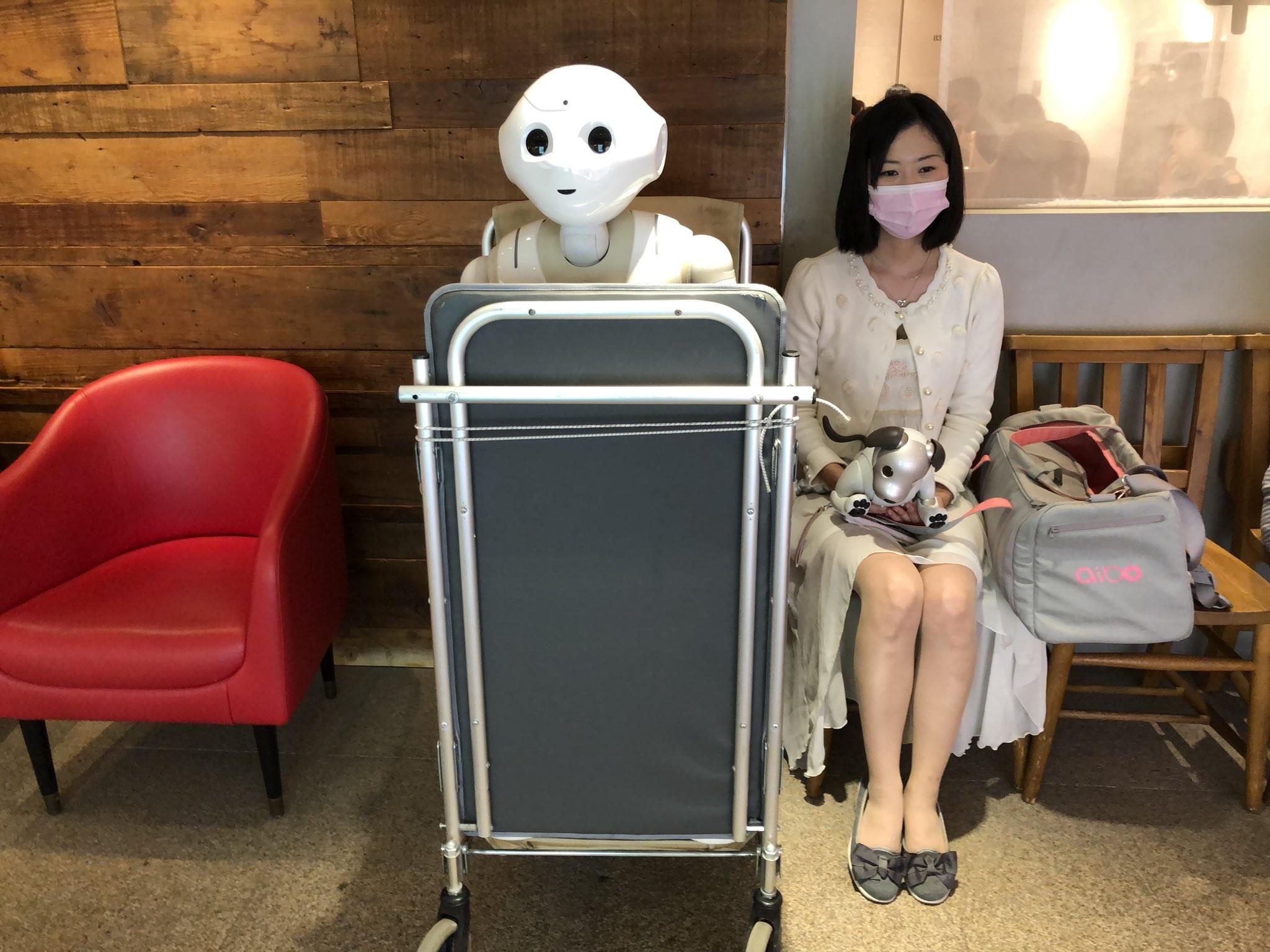 [新聞] 正妹博士「愛上Pepper機器人」!辭工作同