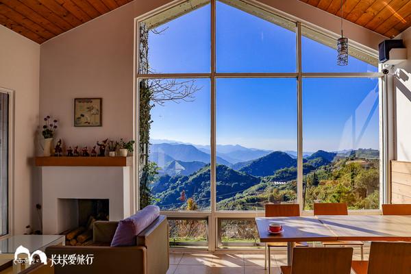 看完日出秒回房補眠!阿里山鄉村風景觀民宿 獨享星空雲海美如畫