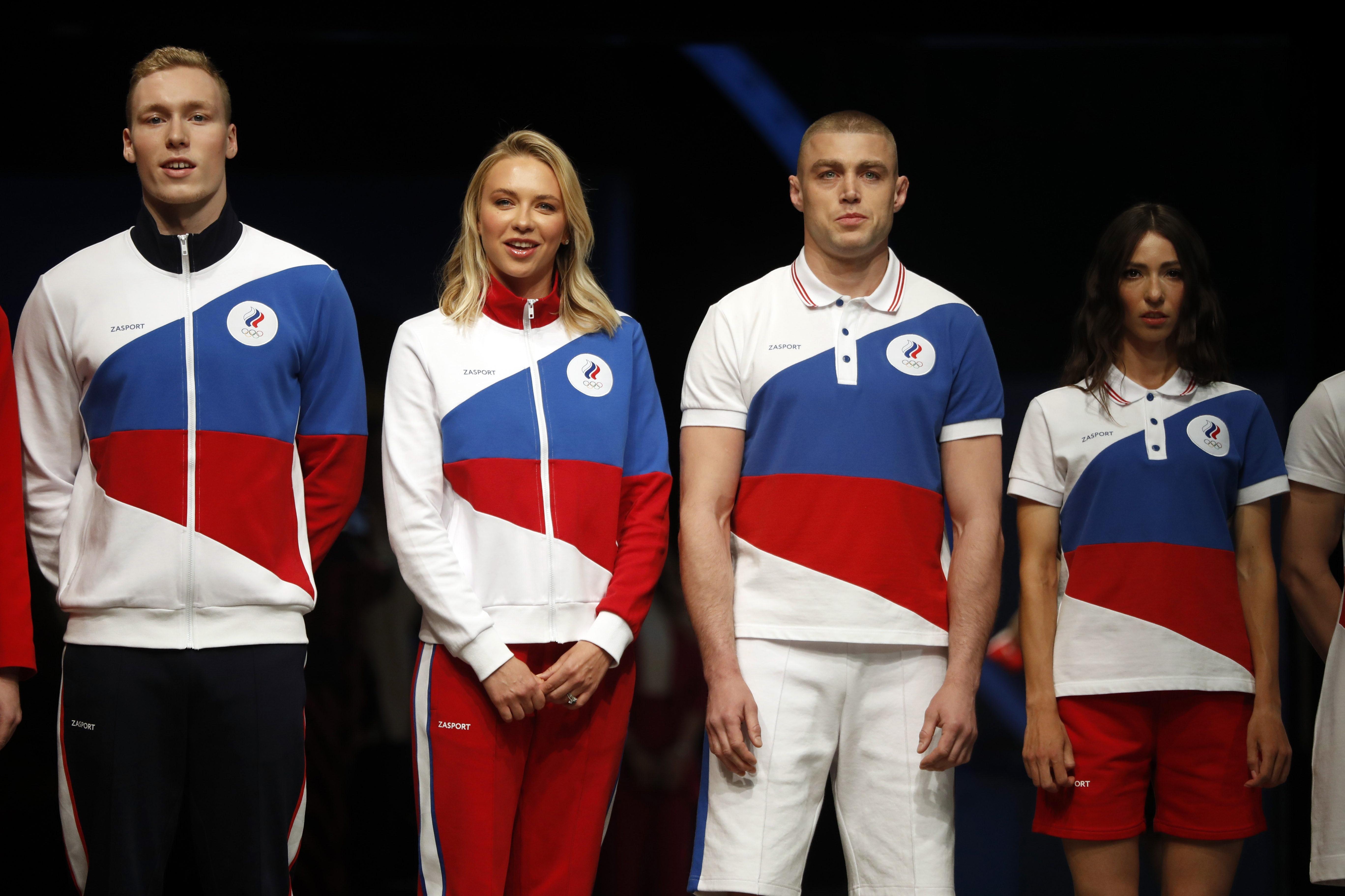 ▲▼東京奧運俄羅斯奧會(Russian Olympic Committee, ROC)代表隊。(圖/達志影像/美聯社)