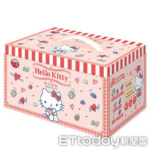 緩降級現契機 台酒趁暑期推限量「Hello Kitty綜合堅果禮盒」