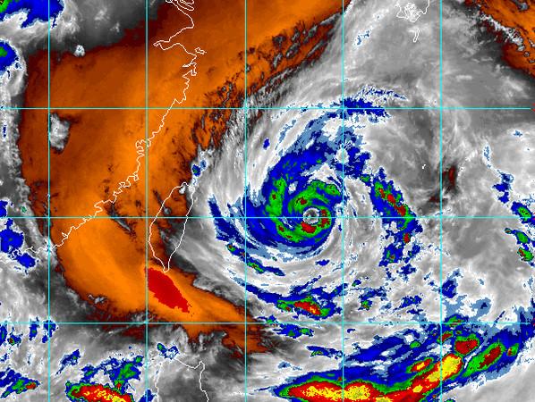 [新聞] 烟花發海警最新「放颱風假」機率曝 北中南東風雨時程出爐