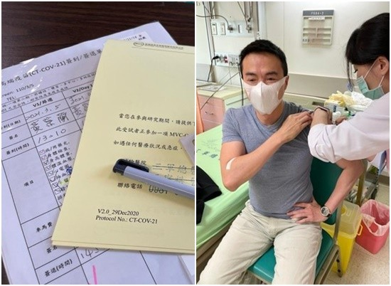 演藝圈「打到真正高端」第1人! 吳鈴山解盲揭副作用…自願讓出公費疫苗