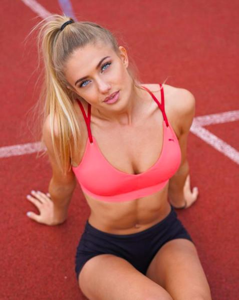 ▲東京奧運德國田徑女選手Alica Schmidt。(圖/翻攝自IG)