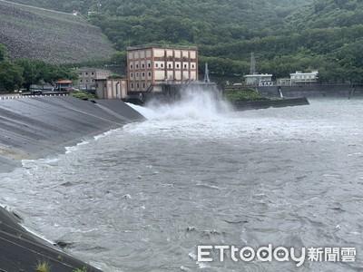 烟花颱風雨彈下好下滿 石門水庫蓄水率82%創一年半來新高