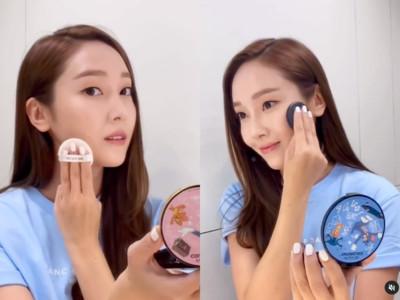 Jessica完美膚質靠這顆氣墊粉餅 開架價格粉絲也買得起!