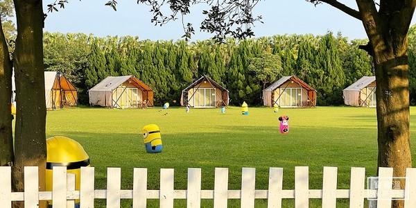 跟飯店一樣舒服!桃園牧場打造豪華露營區 還能參加小豬路跑賽