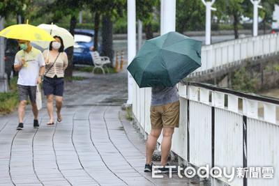 快訊/台北市士林一級淹水警戒 石門水庫滿水位「放水中!」