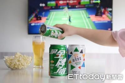 桌球混雙今晚4強戰「台南鄉親好嗨」 台啤「拿金牌了啦」到場應援