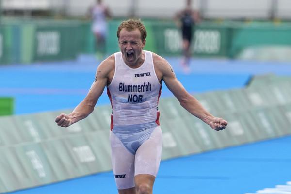 選手穿「透明衣」衝終點線!挪威首摘奧運三鐵金牌 網卻秒歪樓