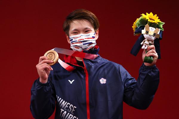 3個月前橫掃3金一舉成名!陳玟卉說到做到 首次奧運就拚下銅牌