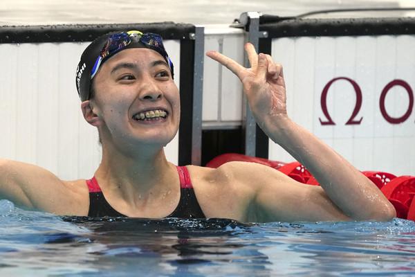 曾經最後一名 大橋悠依東奧雙金、日本女泳將第一人