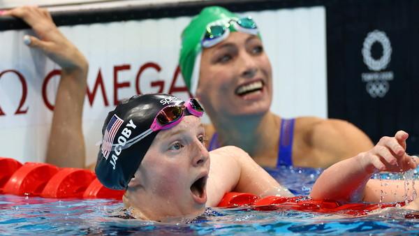 擊敗世界紀錄保持人!美17歲小泳將摘金 背景曝光「竟是音樂家」