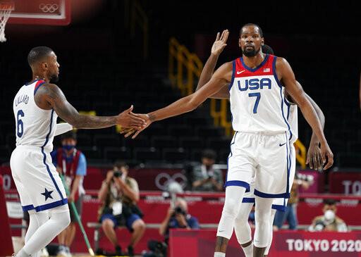 美國男籃狂勝54分 痛宰哈達迪領軍伊朗不手軟