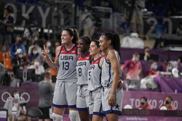 三對三女籃美國勝俄羅斯奪金 中國勝法國獲銅