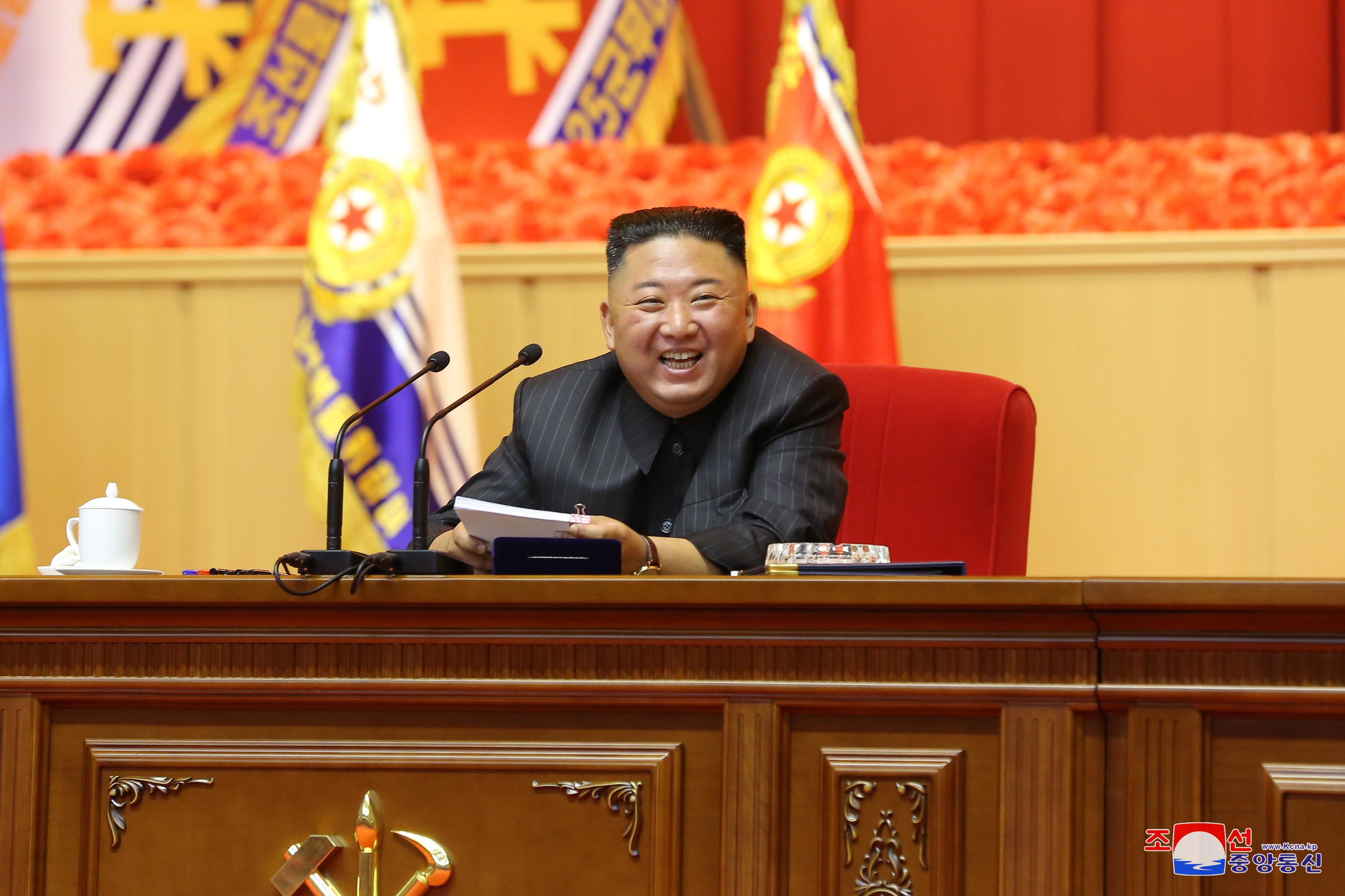 ▲▼金正恩主持第一屆全軍指揮官講習會,罕見未提核武。(圖/達志影像)