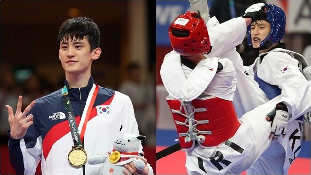 ▲▼南韓跆拳道選手李大勳曾在2018雅加達亞運擊敗伊朗選手,為該國奪下第3面金牌。(圖/達志影像)