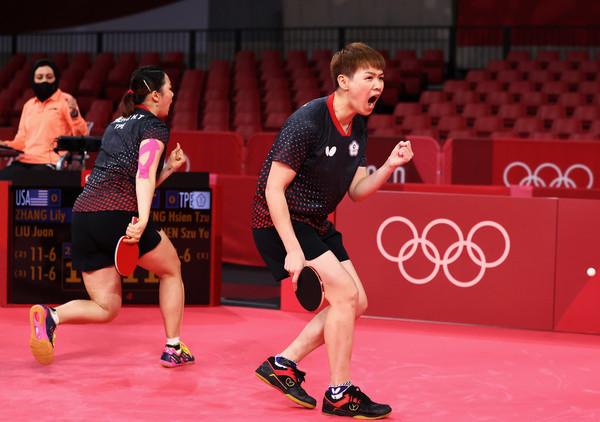 中華桌球女團8強對日本 首點雙打落敗