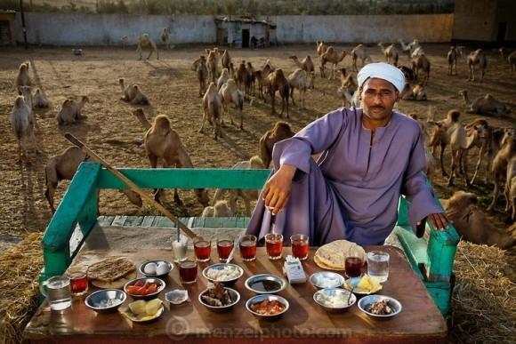 食文化大不同,猜猜看這是誰的一餐?