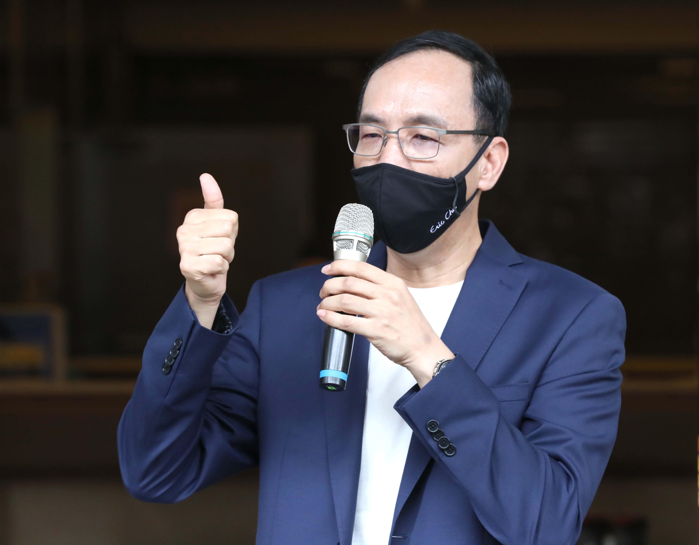朱立倫,國民黨,江啟臣,黨主席,易經,吳敦義,2022,2024