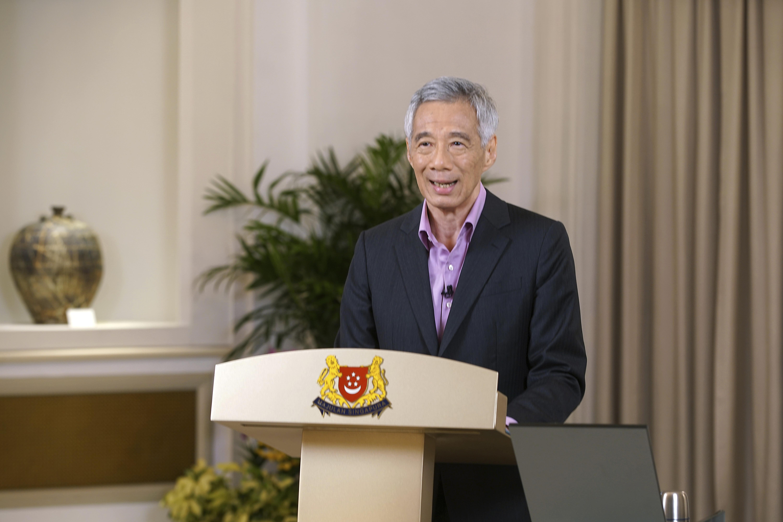 ▲▼新加坡總理李顯龍。(圖/達志影像/美聯社)