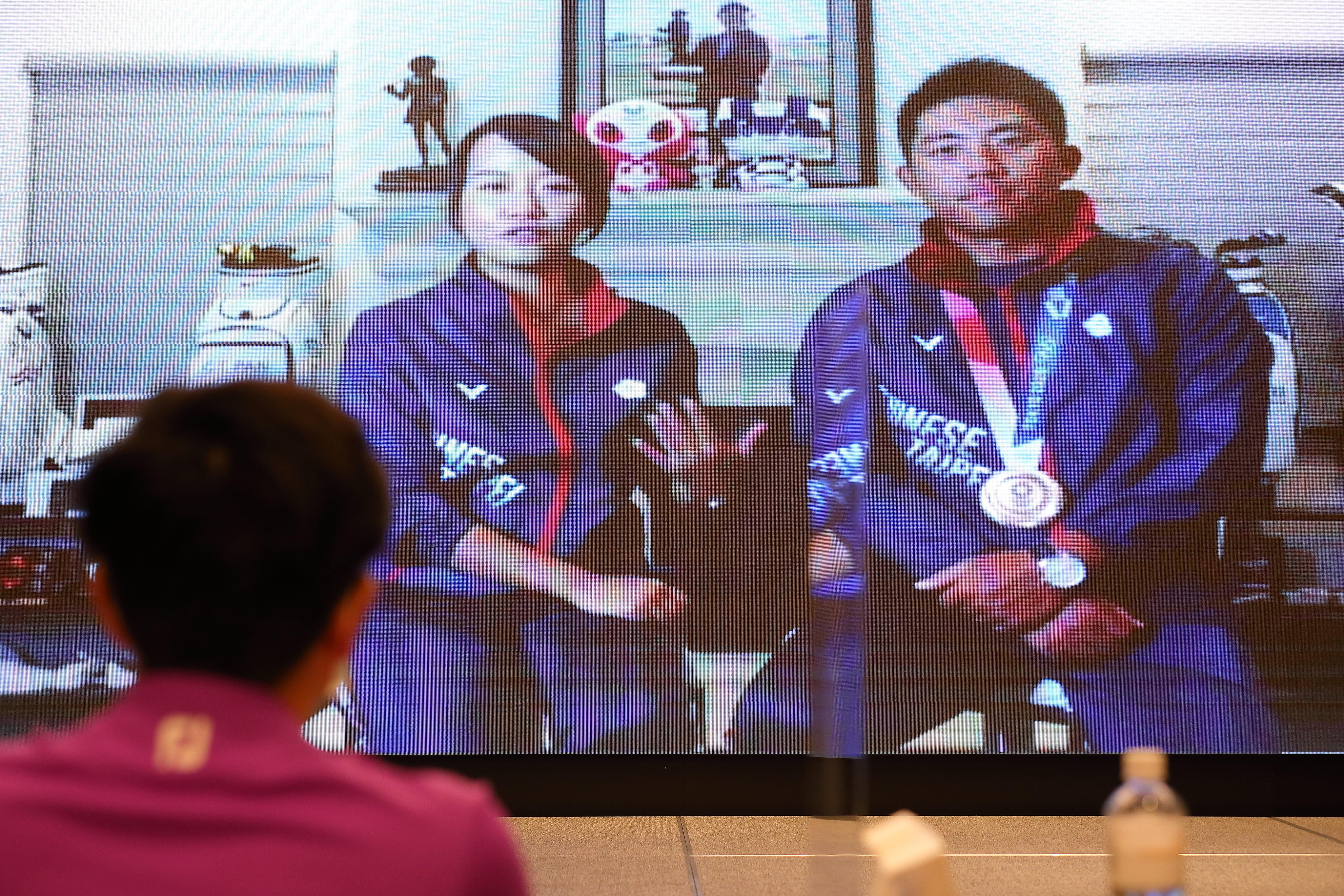 東京奧運,潘政琮,林盈君,職場,易經,家庭