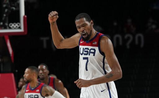奧運男籃金牌獎金值多少? 杜蘭特可領104萬台幣