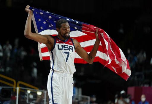 杜蘭特獲國際籃總選為MVP 領銜4國球星組成最佳5人