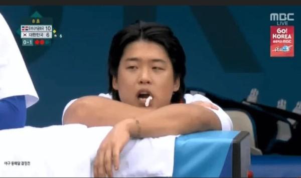奧運嚼口香糖被網友罵翻 姜白虎首發聲:對不起大家