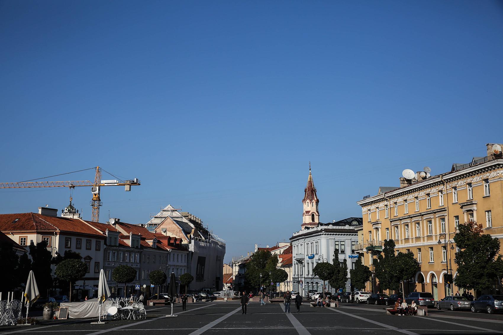 ▲立陶宛首都維爾紐斯。(圖/CFP)