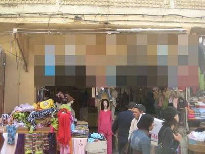 路過巴勒斯坦的童裝店..嚇死我的毛!