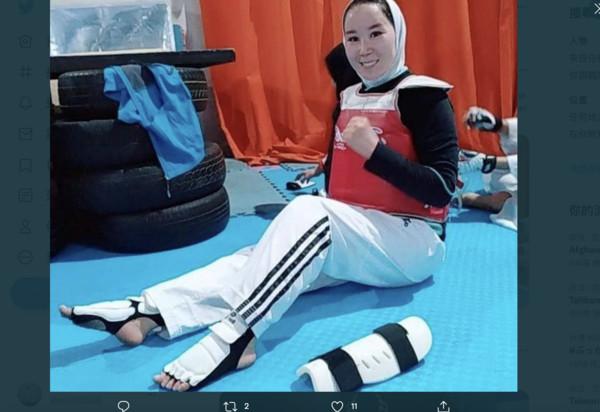 [新聞] 阿富汗23歲女將受困首都無法參加帕運 ..