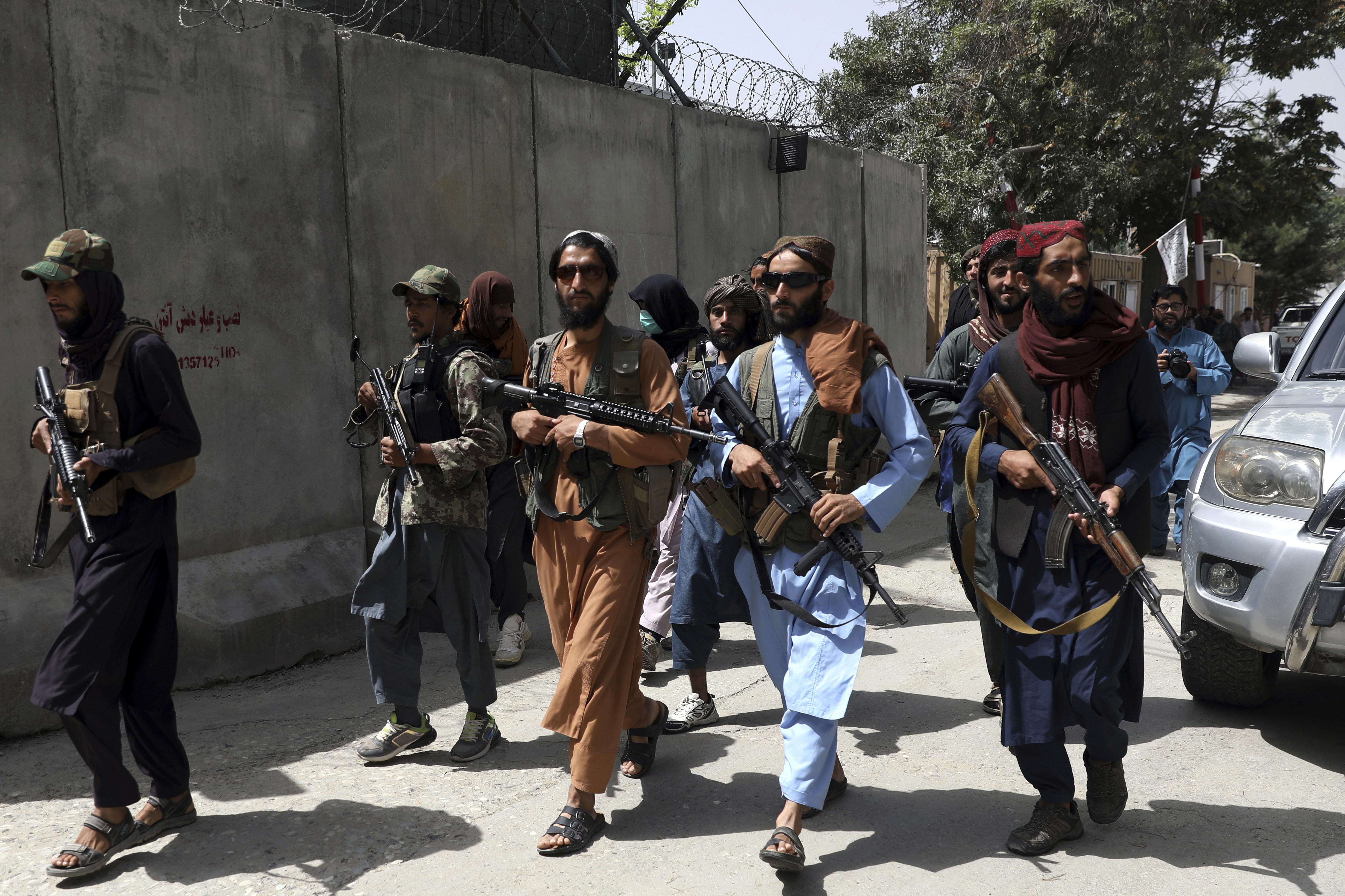 塔利班,阿富汗,喀布爾,台灣,美國,台海有事,兩岸關係,越戰