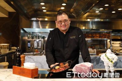 米其林A Cut牛排館再摘一星 台北國賓推雙人套餐「包廂體驗」搶市