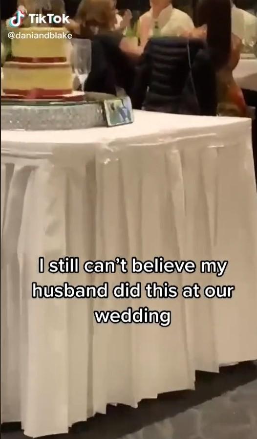 ▲▼ 婚禮。(圖/翻攝自Tik Tok/daniandblake)