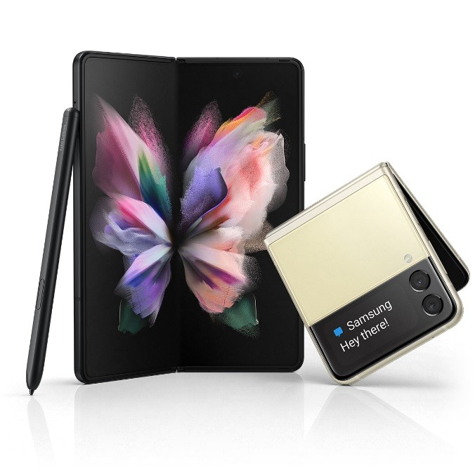 三星,Samsung,Galaxy Z Fold3,Z Flip3(圖/翻攝自三星官網)