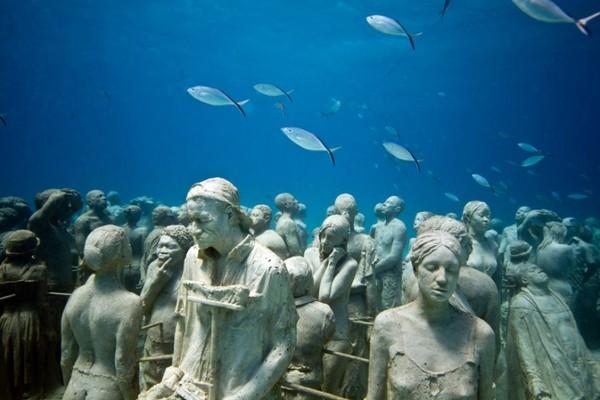 你沒見過的墨西哥海底博物館 與大自然和諧共存
