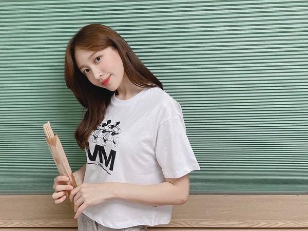 ▲ ▼ EXID El primer amor de Hani es el hombre dominante del atleta olímpico: soy responsable si no puedo casarme.  (Foto / Obtenido de Hani IG)