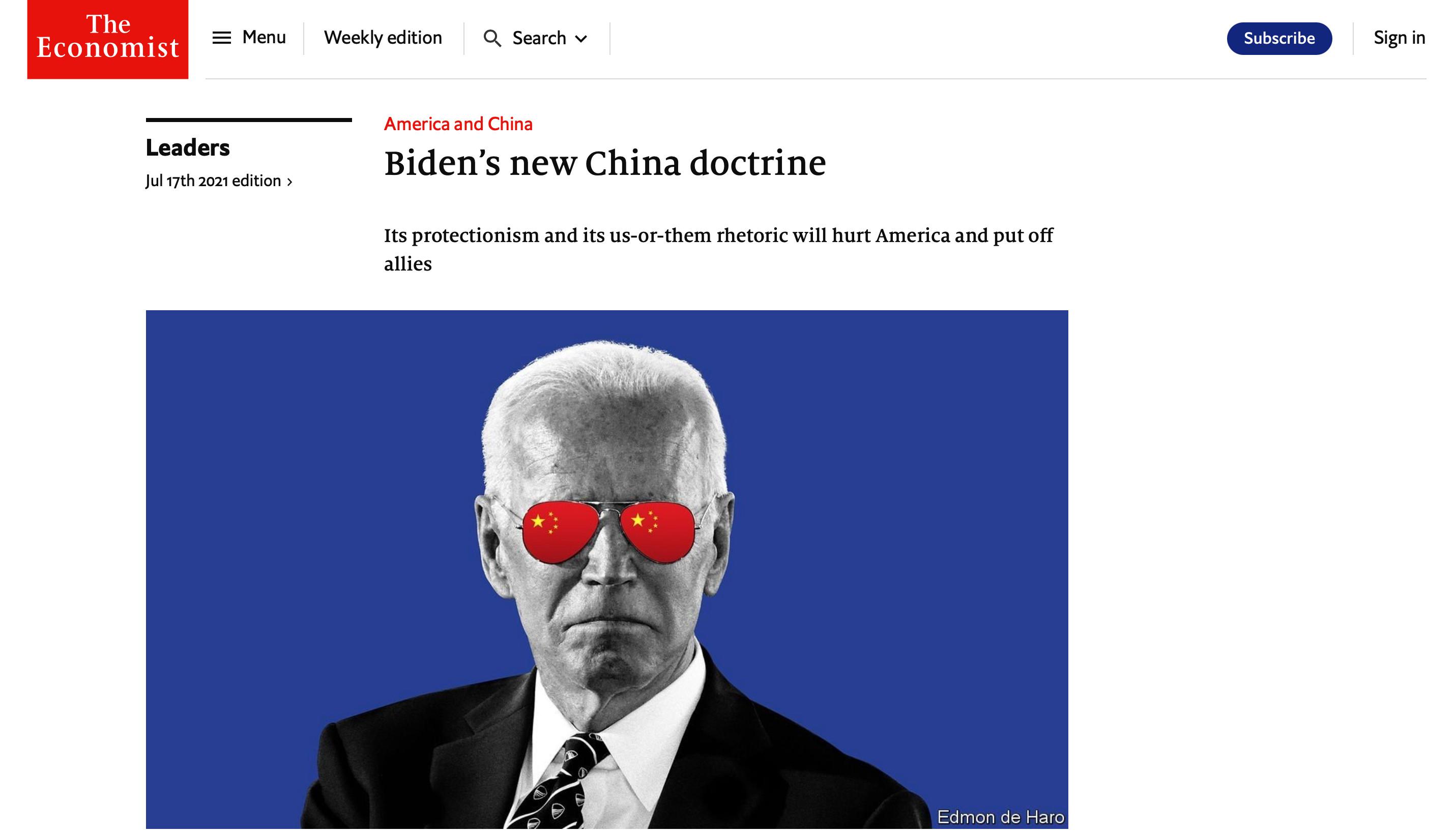 拜登,美國,美中關係,新冷戰,外交,貧富差距,中國,民主,德國,全球化,科技國家主義