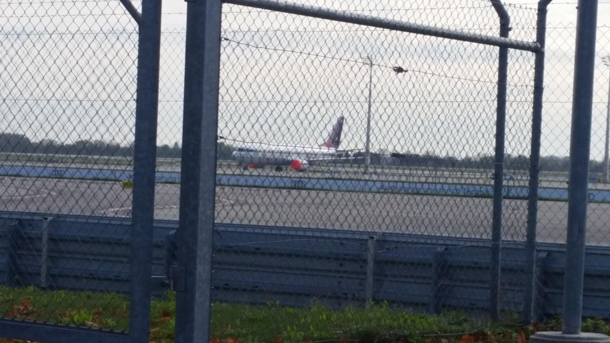 ▲▼泰國皇室專屬班機在慕尼黑機場被拍攝到。(圖/翻攝自Twitter@zenjournalist)