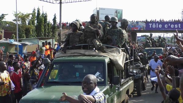[新聞]《紐約時報》爆:幾內亞政變部隊接受過「