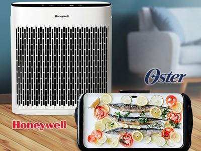 中秋必備「雙機」9270元→6888元!清淨機+電烤盤 舒服在家大口吃烤肉
